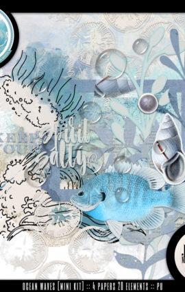 DSD Studio Blog Hop :: Ocean Waves